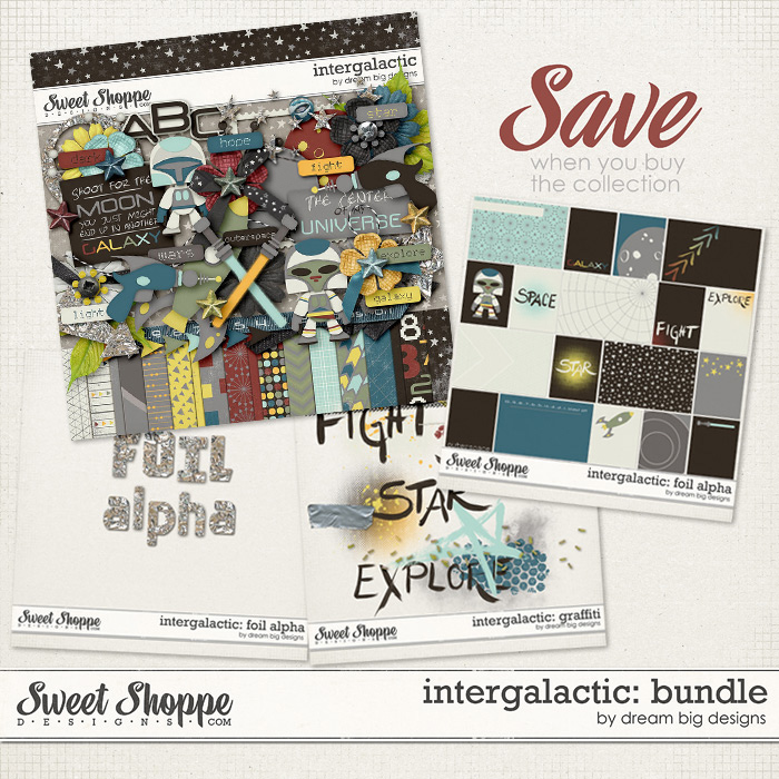 Intergalactic: Bundle by Dream Big Designs