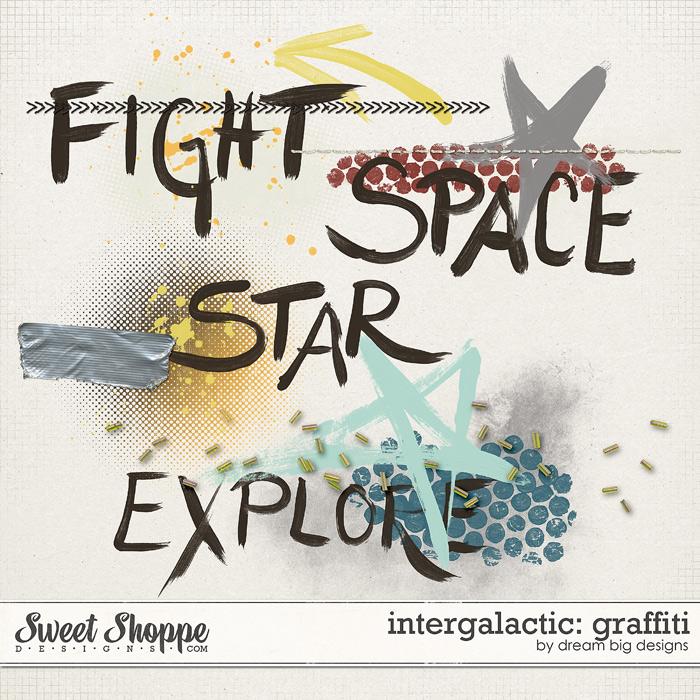 Intergalactic: Graffiti by Dream Big Designs