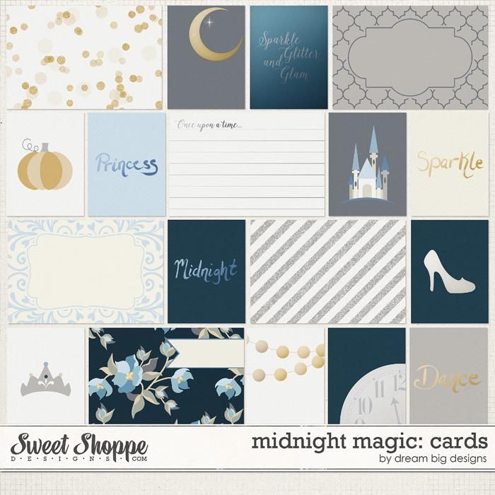 Midnight Magic: Cards by Dream Big Designs