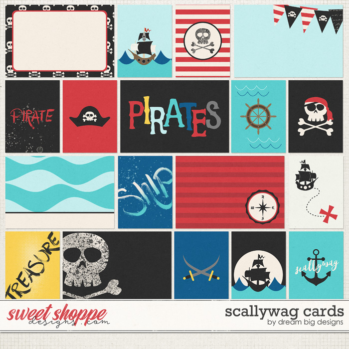 Scallywag Cards by Dream Big Designs