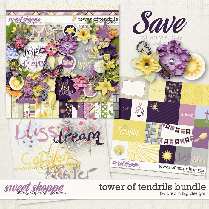 Tower of Tendrils Bundle by Dream Big Designs