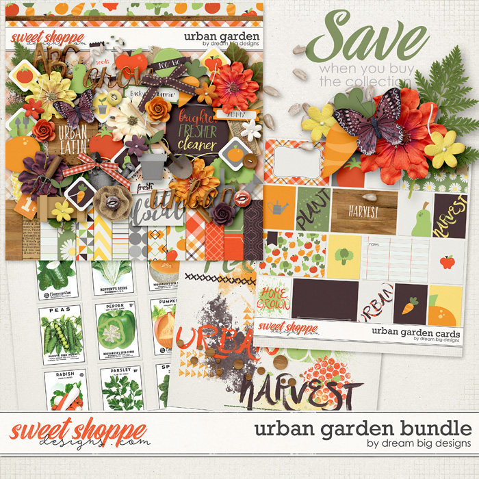 Urban Garden Bundle by Dream Big Designs