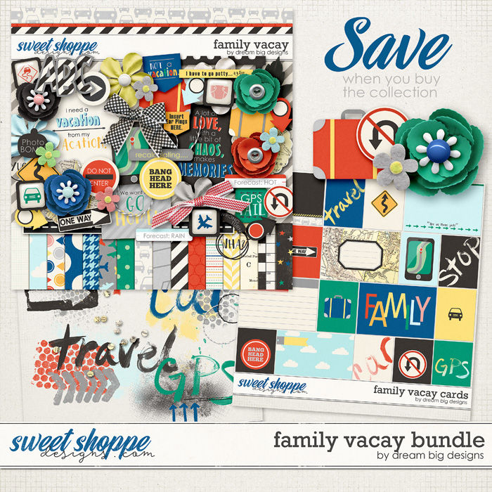 Family Vacay Bundle by Dream Big Designs