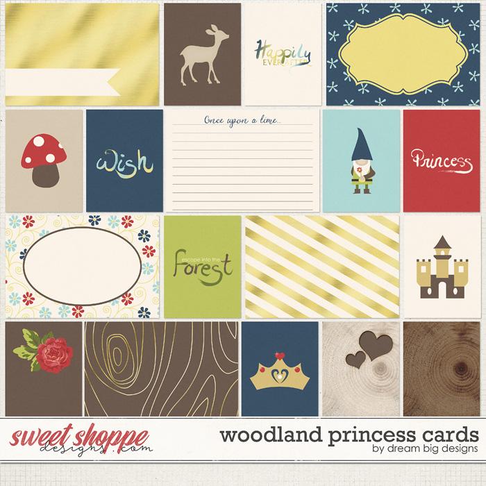 Woodland Princess Cards by Dream Big Designs