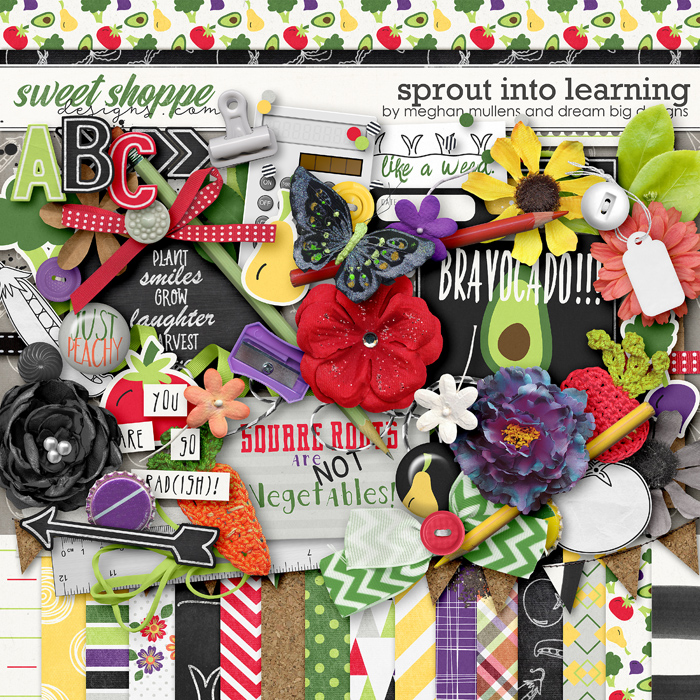 Sprout Into Learning by Dream Big Designs & Meghan Mullens