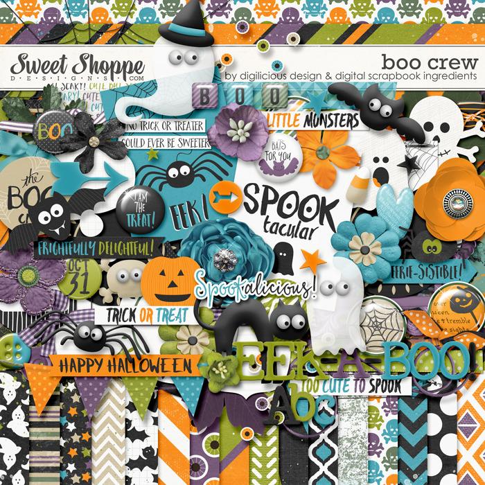 Boo Crew by Digilicious Design & Digital Scrapbook Ingredients