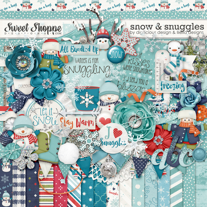Snow & Snuggles Kit by Digilicious Design and Lliella Designs