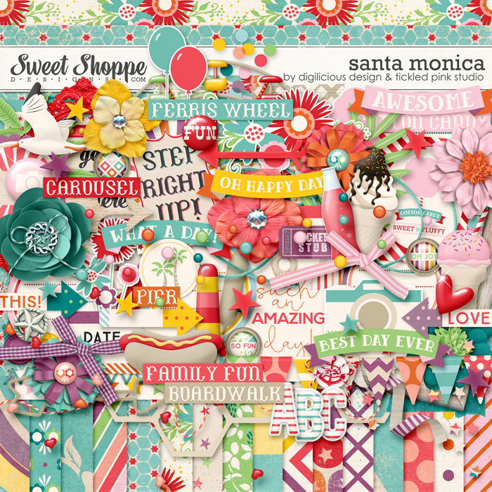Santa Monica by Digilicious Designs & Tickled Pink Studio