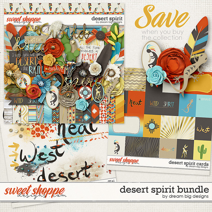 Desert Spirit Bundle by Dream Big Designs