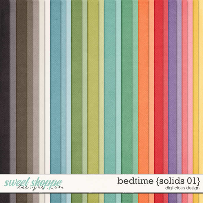 Bedtime {Solids 01} by Digilicious Design