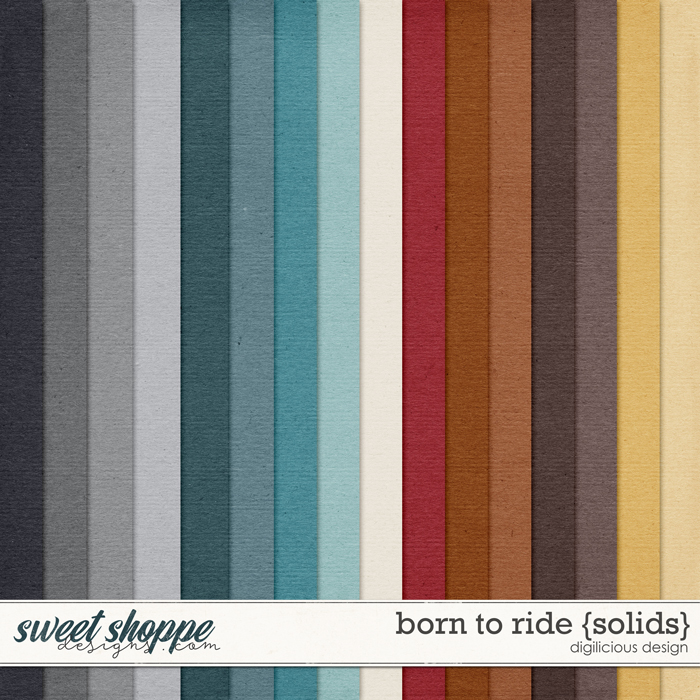 Born To Ride {Solids} by Digilicious Design