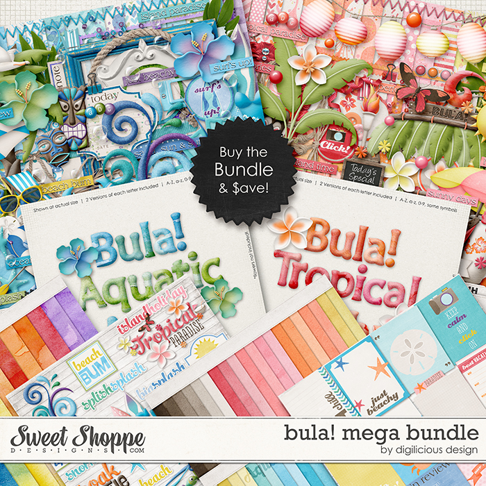 Bula! Mega Bundle by Digilicious Design