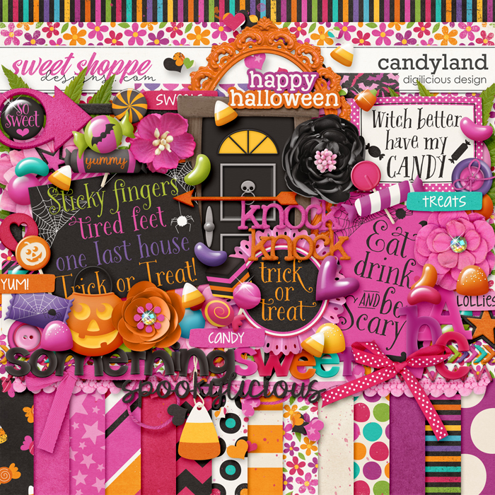 Candyland by Digilicious Design