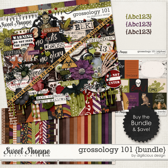 Grossology 101 {Bundle} by Digilicious Design