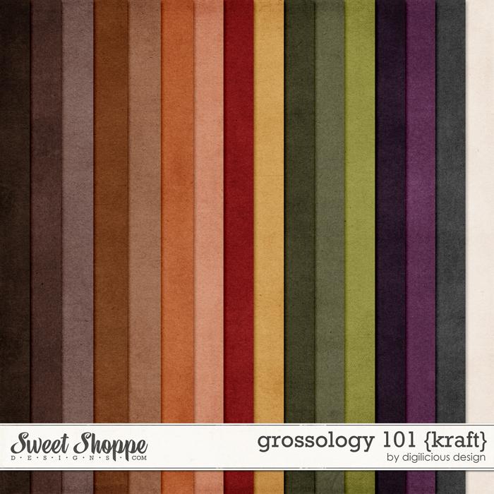 Grossology 101 {Kraft} by Digilicious Design