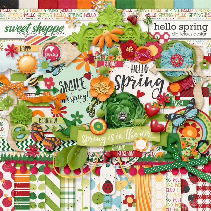 Hello Spring by Digilicious Design
