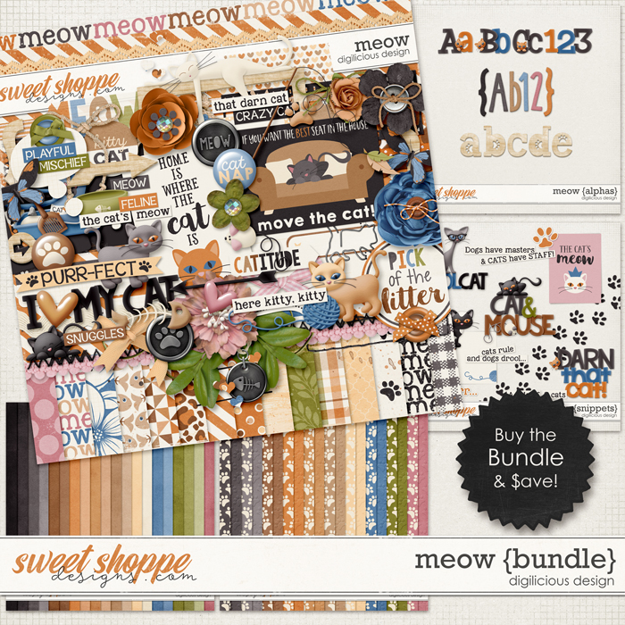 Meow {Bundle} by Digilicious Design