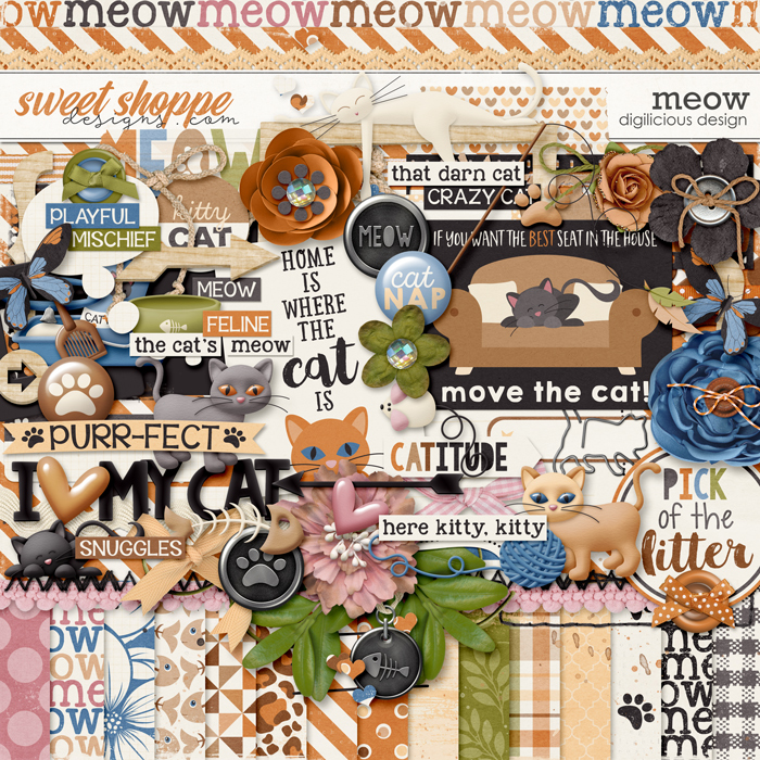 Meow {Kit} by Digilicious Design
