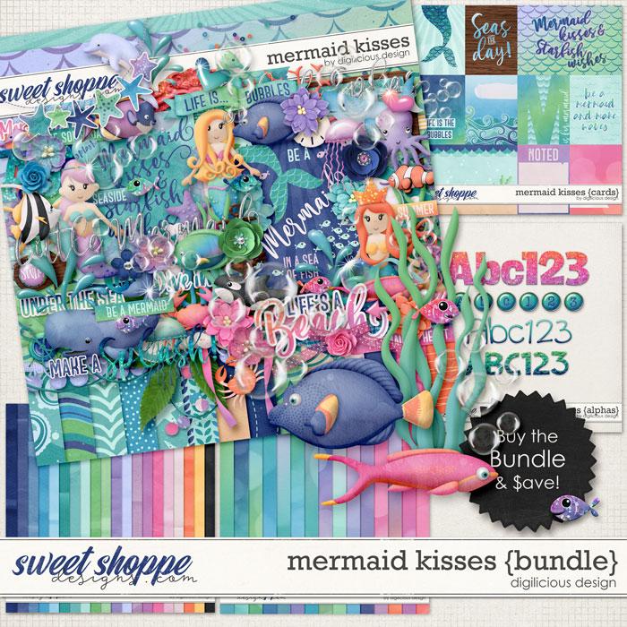 Mermaid Kisses {Bundle} by Digilicious Design