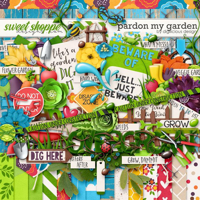 Pardon My Garden {Kit} by Digilicious Design