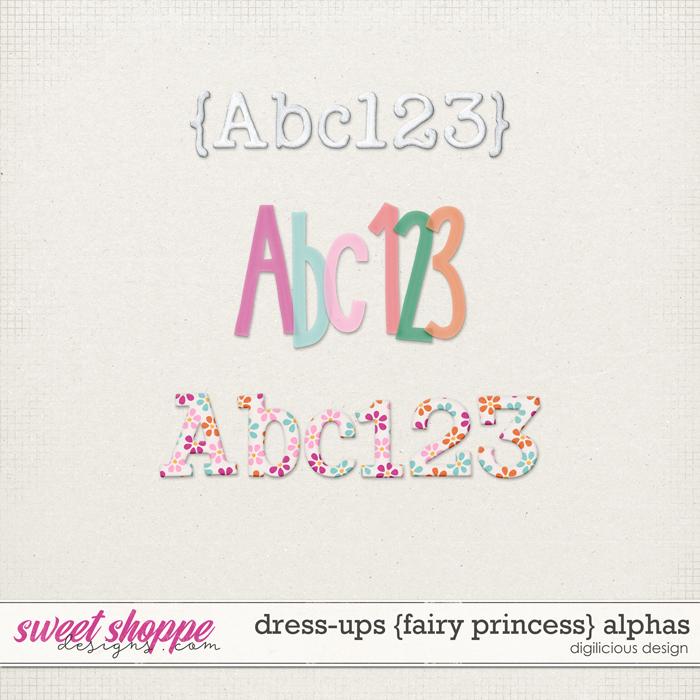 Dress-ups {Fairy Princess} Alphas by Digilicious Design