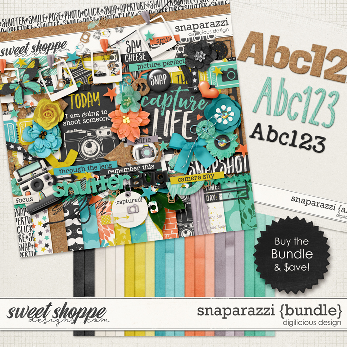 Snaparazzi {Bundle} by Digilicious Design