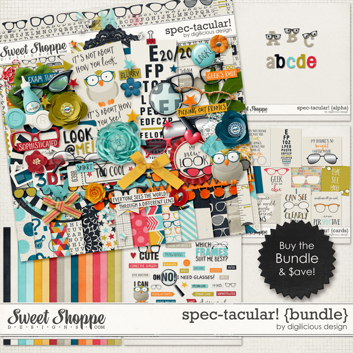 Spec-tacular! {Bundle} by Digilicious Design