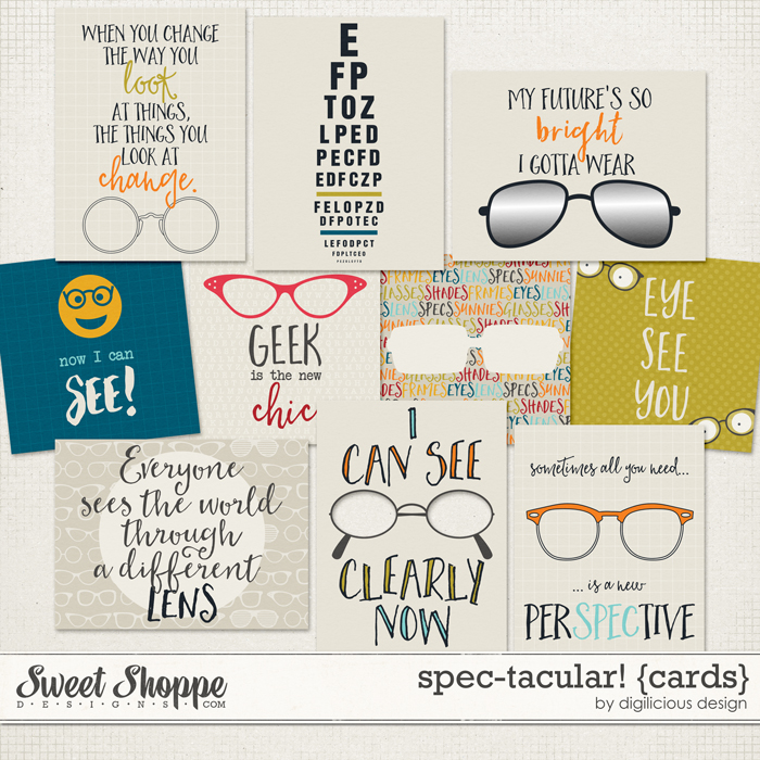 Spec-tacular! {Cards} by Digilicious Design