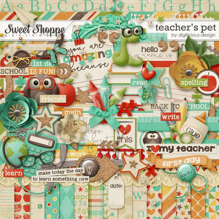 Teacher's Pet Kit by Digilicious Design