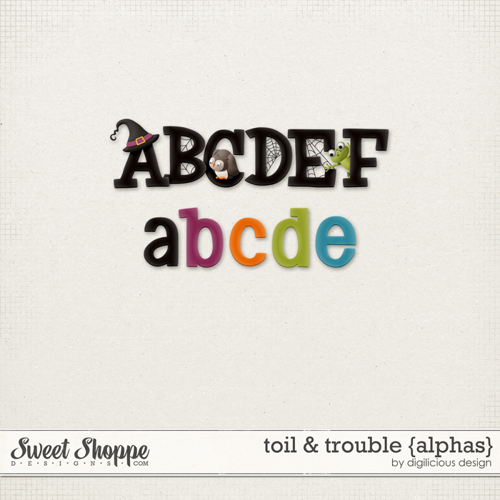 Toil & Trouble {Alpha} by Digilicious Design