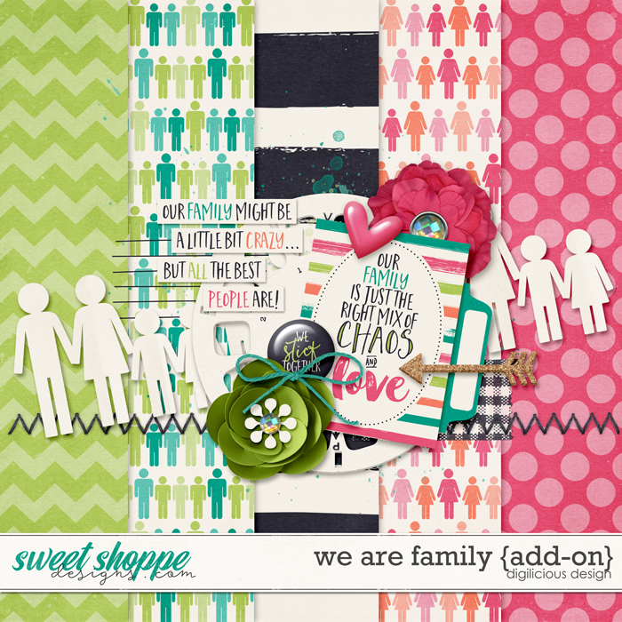 We Are Family {Add-on} by Digilicious Design