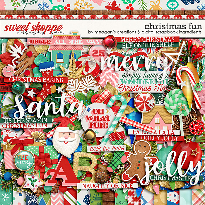 Christmas Fun by Meagan's Creations and Digital Scrapbook Ingredients