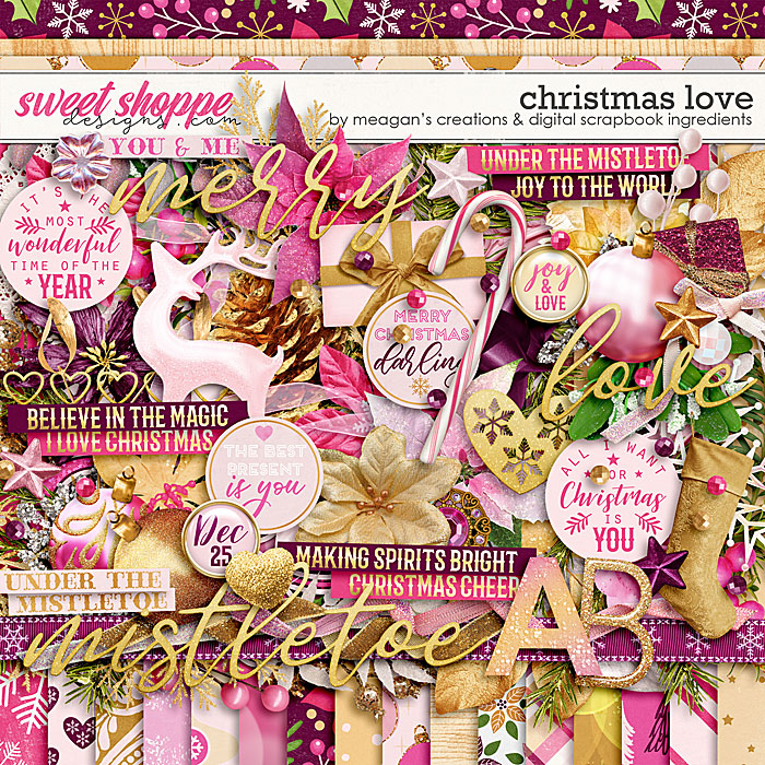 Christmas Love by Digital Scrapbook Ingredients and Meagan's Creations