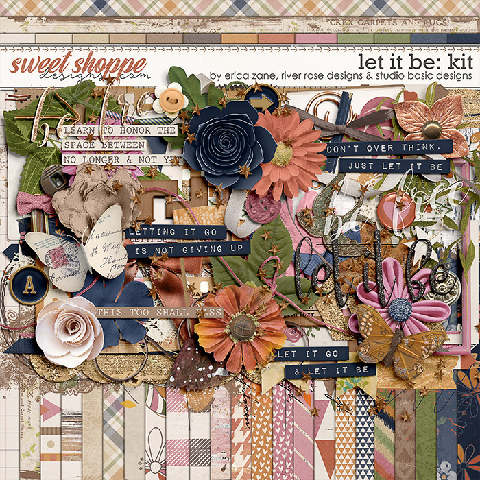 Let It Be Kit by Erica Zane, River~Rose and Studio Basic