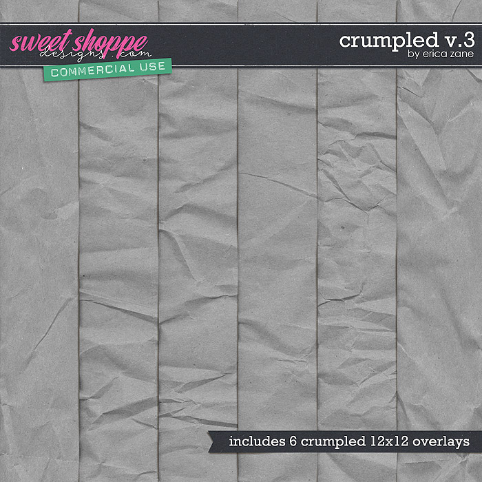 Crumpled v.3 by Erica Zane