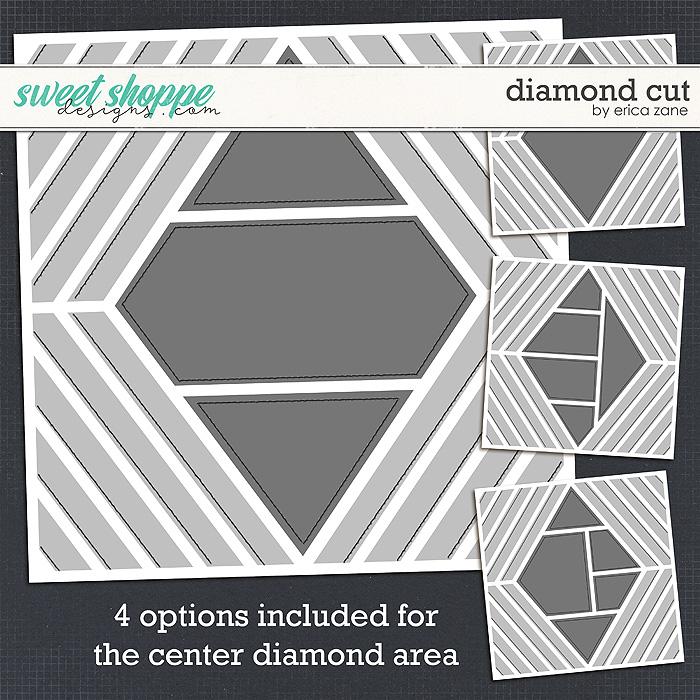 Diamond Cut Template by Erica Zane