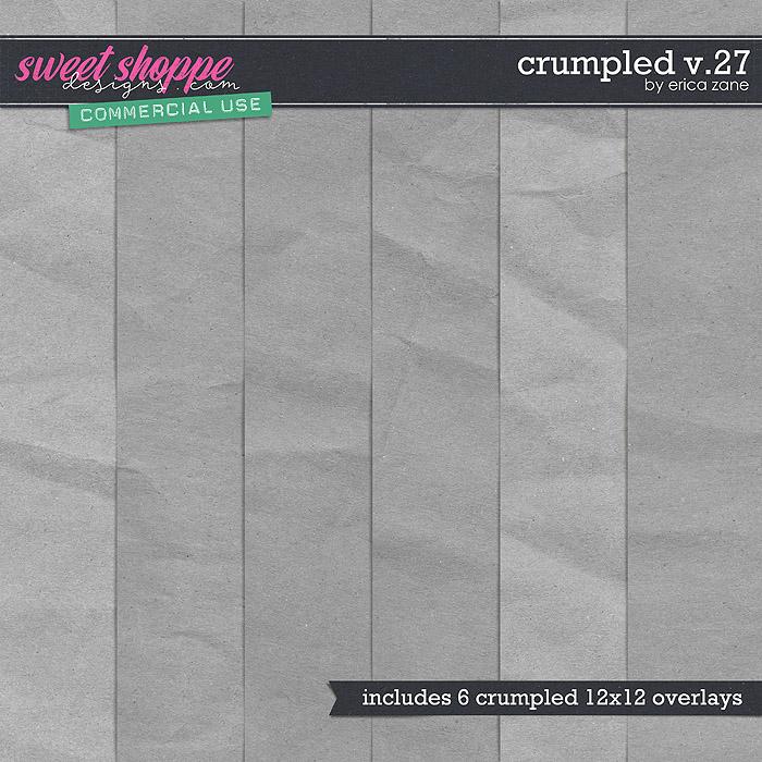 Crumpled v.27 by Erica Zane