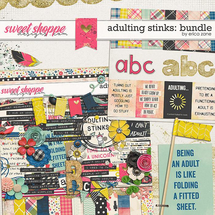 Adulting Stinks: Bundle by Erica Zane