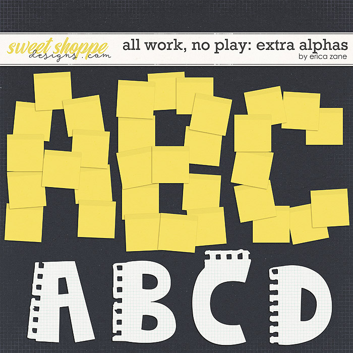 All Work, No Play: Extra Alphas by Erica Zane