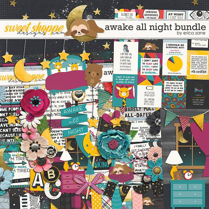 Awake All Night: Bundle by Erica Zane