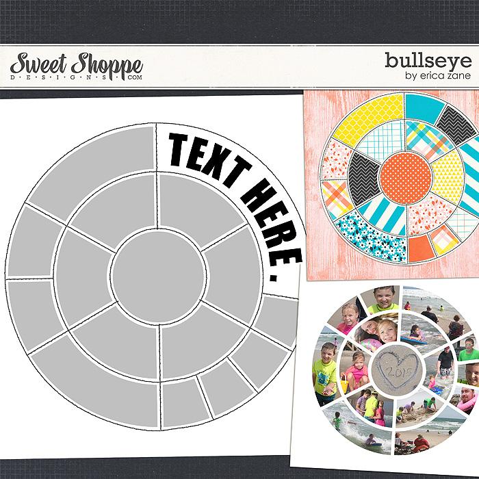 Bullseye Template by Erica Zane