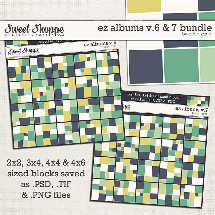 EZ Albums v.6 & 7 Bundle by Erica Zane