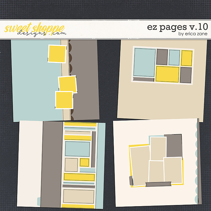 EZ Pages v.10 Templates by Erica Zane