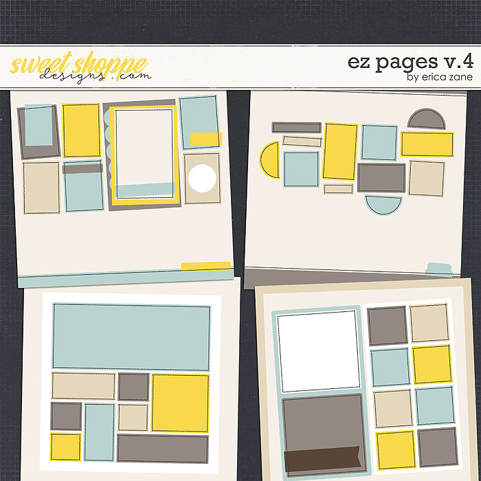 EZ Pages v.4 Templates by Erica Zane