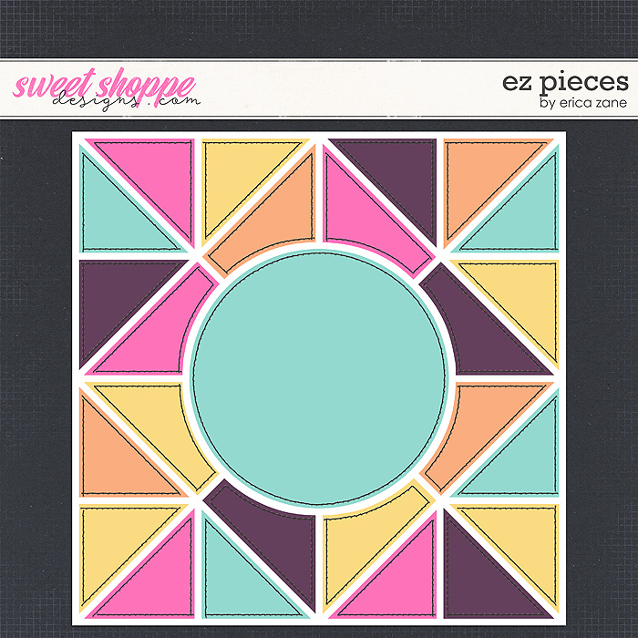 EZ Pieces Template by Erica Zane