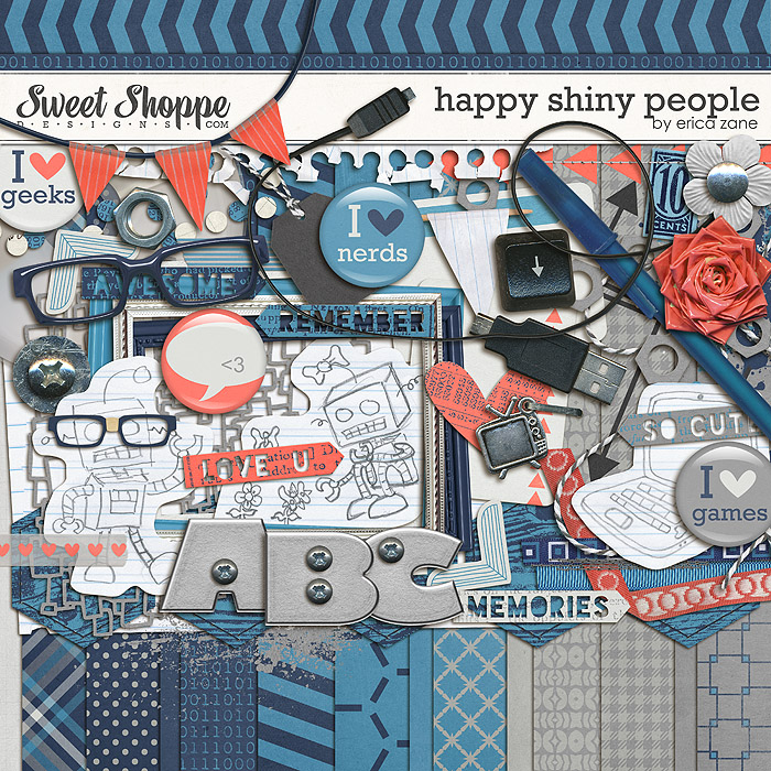 Happy Shiny People by Erica Zane