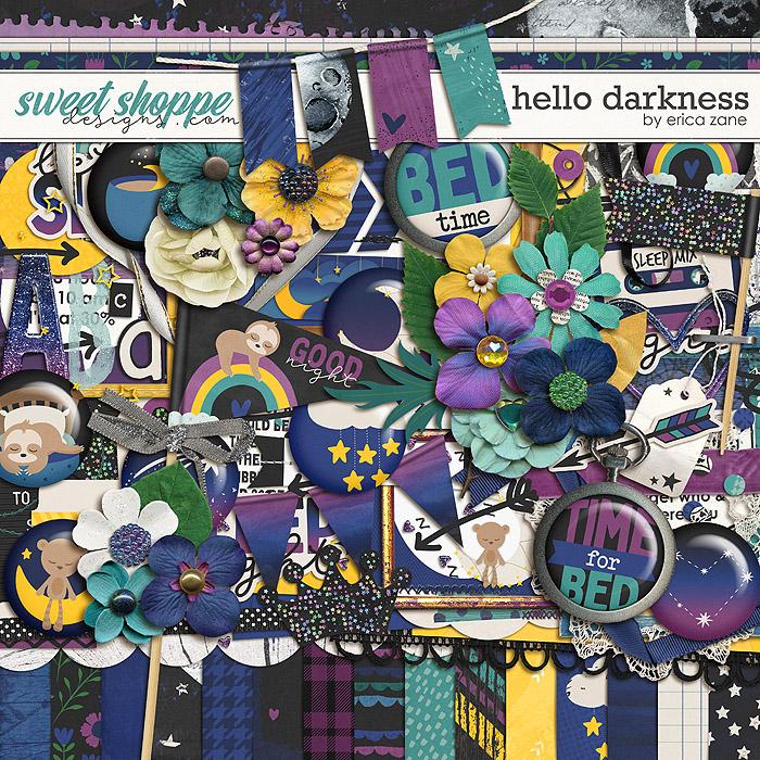 Hello Darkness by Erica Zane