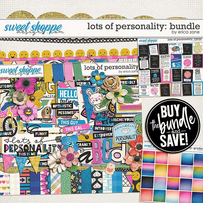 Lots of Personality: Bundle by Erica Zane