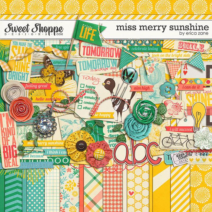 Miss Merry Sunshine by Erica Zane