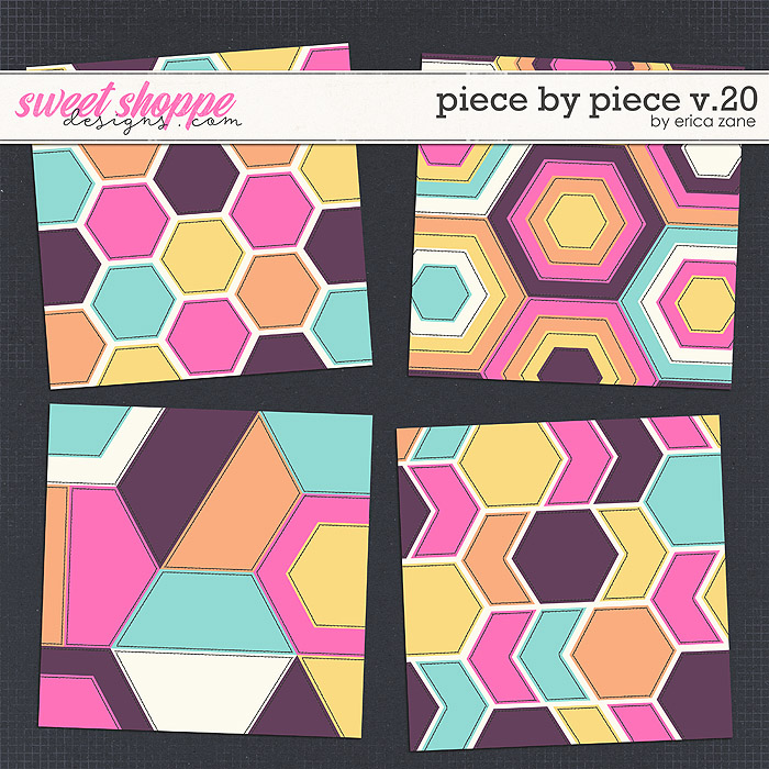 Piece by Piece v.20 Templates by Erica Zane